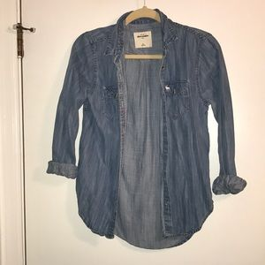 Abercrombie denim top